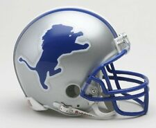 Detroit Lions 1983 to 2002 Riddell Mini Replica Throwback Helmet