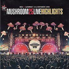 MUSHROOM 25 LIVE Highlights 1998 CD Paul Kelly The Angels Whitlams Chisel INXS