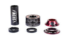 THE SHADOW CONSPIRACY STACKED 22MM MID BMX BOTTOM BRACKET RED TYE DIE