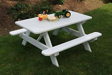Kids & Children's Picnic Table *8 Different Paint Colors* Amish Made USA