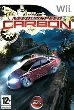NINTENDO Wii  GAME NEED FOR SPEED CARBON ALL COMPLETE