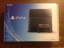 Original Sony PlayStation 4 Launch Edition 500GB Jet Black PS4 Video Console