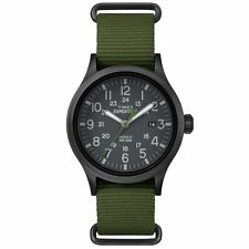 "Timex TW4B04700, Men's ""Expedition"" Green Nylon Watch, Scout, TW4B047009J"