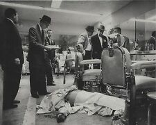 ALBERT ANASTASIA MURDER SCENE 8X10 PHOTO MAFIA ORGANIZED CRIME MOBSTER PICTURE
