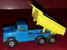 Vintage MATCHBOX  series No 48 Dumper Truck Made in ENGLAND by Lesney