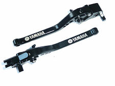YAMAHA R1 2004 2008 LONG BRAKE & CLUTCH LEVERS SET BLACK RACE TRACK ROAD S11C