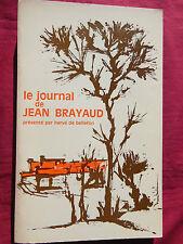 23 - LE JOURNAL de JEAN BRAYAUD Présenté par Hervé DE BELLEFON  Editions A.D.C.F