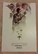 STAR WARS ROGUE ONE - ORIGINAL IMAX CINEMA EXCLUSIVE POSTER NUMBER 3