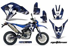 AMR Racing Yamaha Graphic Kit Bike Decal WR250 R/X Decal MX Parts 07-15 MLTDWN U