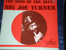 JOE TURNER - THE BOSS OF THE BLUES - RARE FRENCH RIVERBOAT LABEL LP - NEAR MINT!