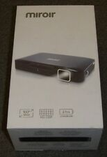 "Miroir MP150A HD 720P 100"" Image Mini DLP Projector for iPad/iPhone/GoPro new"