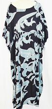 MAYA Ubud Resort kaftan Ladies Dress Long Frill One Size Cool Summer Womens New