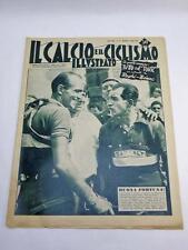 IL CALCIO E IL CICLISMO ILLUSTRATO 27 1953 Bartali Magni vintage cycling