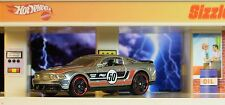 Hot Wheels / 2012 Ford Mustang Boss 302 Laguna SECA / ZAMAC ~ Racing / 2014