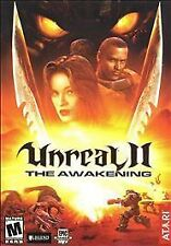 UNREAL II: THE AWAKENING (2003) PC CD-ROM NEW & FACTORY SEALED