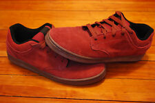 Men's Supra Footwear Dixon Dark Red Suede Sneakers (12)