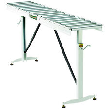 HTC HRT-70 66-Inch Long 17 Ball Bearing Conveyor Feed Stand Roller Table