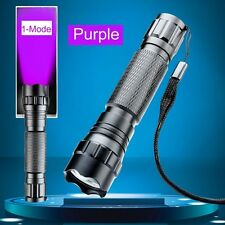 Latest Ultrafire WF-501B 3W 800lumen UV Ultraviolet Luxeon LED Flashlight Torch