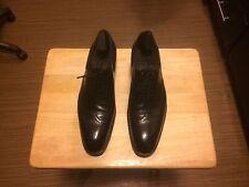 John Lobb bespoke wingtip dress shoes.