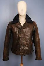 Stunning Vtg 60s CHP California Highway Patrol Police Leather Motorcycle Jacket