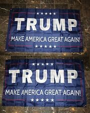3x5 Trump Make America Great Again 2 Faced 2-ply Wind Resistant Flag 3x5ft