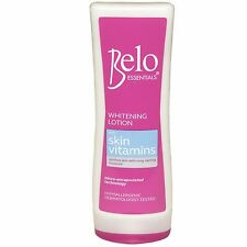 Belo Essentials Whitening Lotion with Skin Vitamins - 100ml - NEW - On sale!