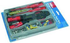 Eléctrica Repair Tool Kit con herramientas que prensan de alambre cortadora de Destornillador + Funda