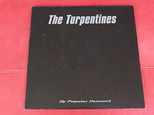 The Turpentines - By Popular Demand LP White Jazz 2000 Sweden Embossed Cover