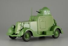 Legendary cars of the USSR. Armored car BA-20. DeAgostini model scale 1/43