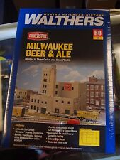 HO Walthers Cornerstone kit 933-3024 * Milwaukee Beer & Ale * NIB