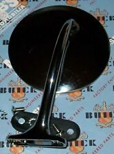 BUICK LEFT OUTSIDE MIRROR 1948 - 53 + Our 127 pg Buick Parts Catalog
