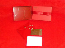 STARBUCKS 2014 STERLING SILVER CARD LOADED 50.00 GIFT BOX/POUCH/ RECEIPT REDUCED