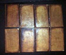 1782 Paris Memoires Secrets 8 Volumes  France Literary & Theater Chronicle 1stEd