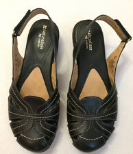 New Naturalizer N5 Comfort Closed Toe Black Slip On Woman's Sandals Size 8.5