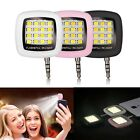 Portable 16 LED Selfie Flash Fill Flash Light 3.5MM Jack For Android For iPhone