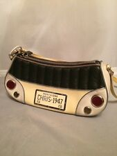 Christian Dior Ltd Edition Car Licence Plate AD PIECE Runway Handbag Purse, 2001