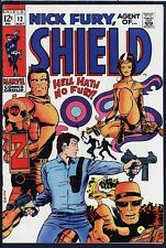 Nick Fury Agent of SHIELD 12 HIGH GRADE Barry Smith 1969 Marvel Comic Book VF/NM