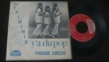 LES TRIMINIS - Y'A Du Pop Rare Belgium PS 7' Pop Beat Sixties