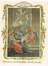 """Fleetwood's """"Life of Our Saviour"""" - """"DESENT OF THE HOLY GHOST"""" - H/C Eng. -1770"""