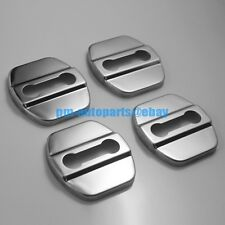 PM 4PCS 304 Steel Anti-rust Door Lock Cover Cap Trim for Tiida X-trail Maxima