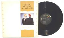 "EURYTHMICS: Sweet Dreams ( Are Made Of These) LP RCA PD13502 US 1982 12"" NM"
