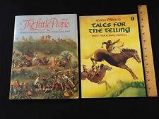 2-lot-Little People:Stories of Fairies,Pixies-Philip & Tales For Telling-O'Brien