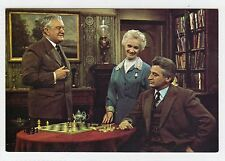 Dr FINLAY'S CASEBOOK: BBC postcard with chess theme (C23307)