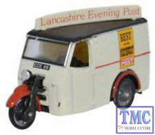 76TV006 Oxford Diecast Tricycle Van Lancashire Evening Post 1/76 Scale OO Gauge