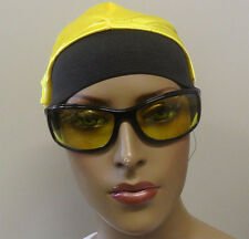 ALI G  SUNGLASS WITH YELLOW UV400 LENSES AND BLACK FRAME