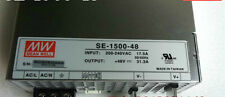 1PC MEANWELL switching power supply SE-1500-48