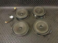 2005 AUDI A4 B7 2.0 TDI SET OF 4 DOOR SPEAKERS 8E0035411