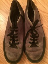 PATAGONIA size 10.5 mens gray leather and canvas casual shoes