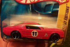 hot wheels FORD MUSTANG FASTBACK 2008 first edition short card