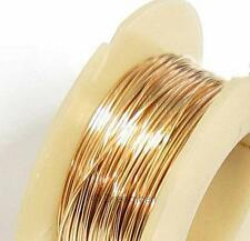 5ft Fine 14k Gold Filled Round Wire  28ga (0.3mm) Dead Soft